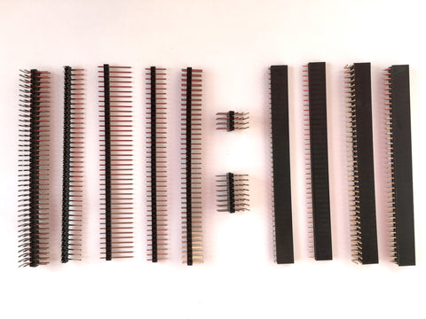 PCB Header Kit - 11 Types, 90 Pieces