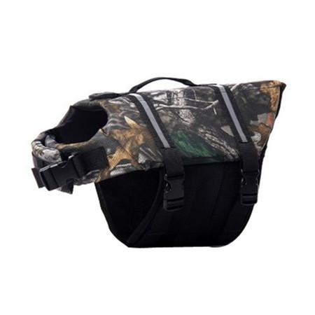 Adjustable Dog Life Jacket - Camo / L - justpugstuff.com