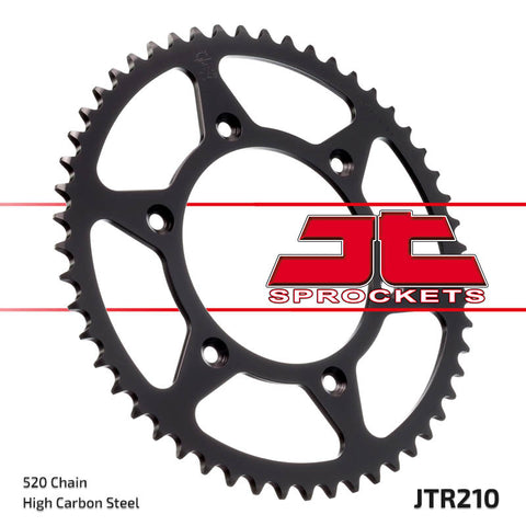 JT Carbon Steel Rear Sprocket