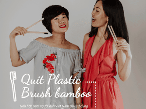 NATURAL BAMBOO TOOTHBRUSH AND HOC'S COMMITMENT