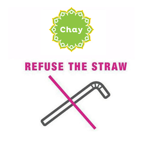 Refuse the straw