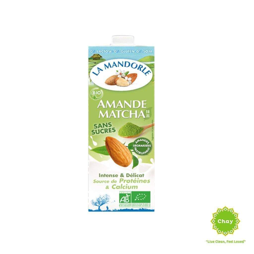 Almond Milk La Mandorle Almond & Macha / 1000ml