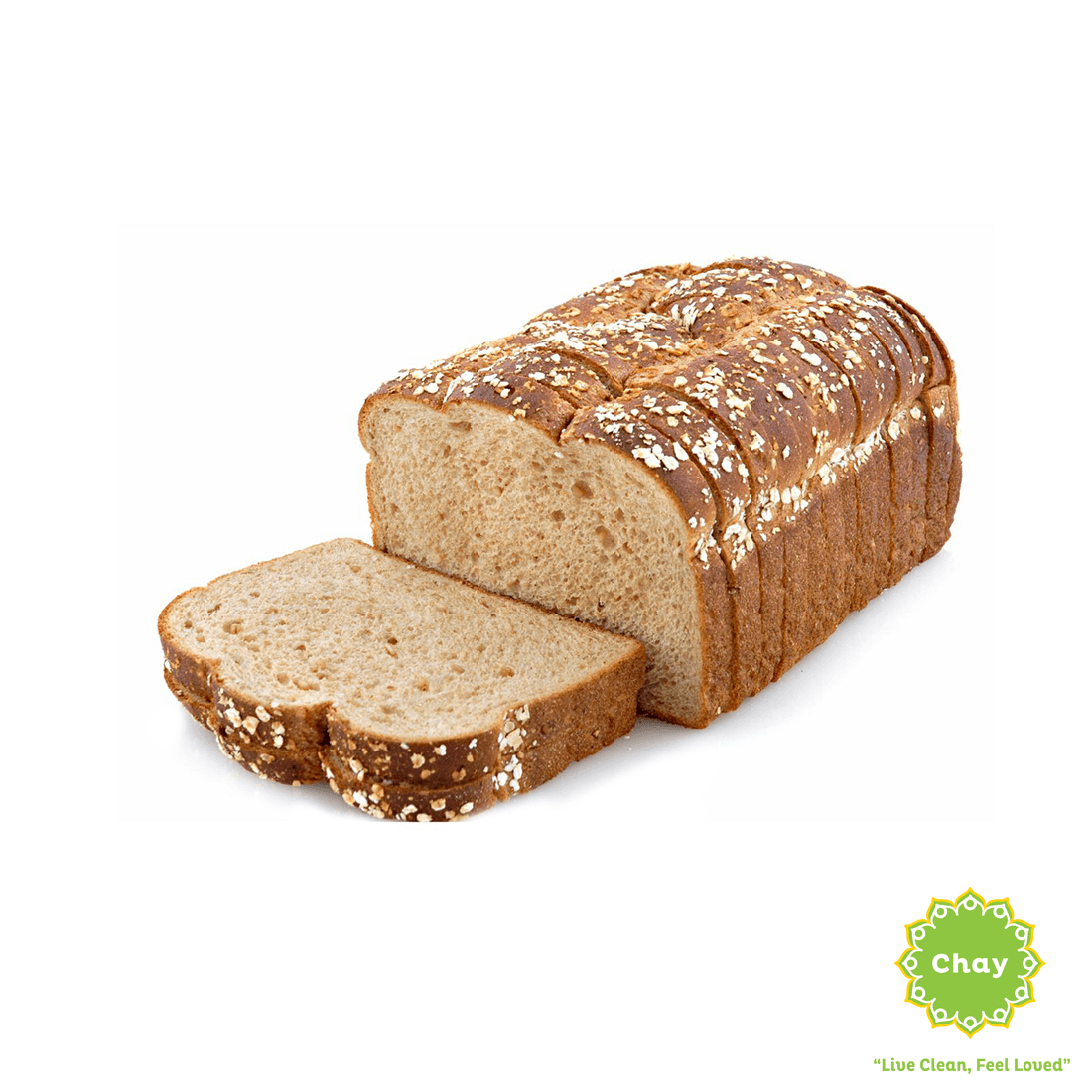 [BK003] 12 Grain Bread (V) en Harvest Baking 1/2 Loaf (300g)