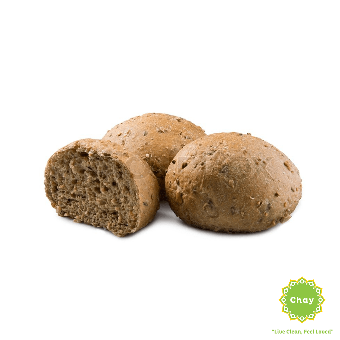 [BK003] 12 Grain Bread (V) en Harvest Baking Rolls (10 packs) (60g/ 1roll)
