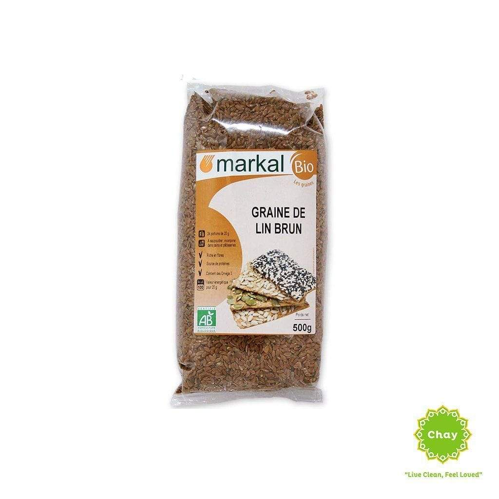 Brown Flaxseed Markal 500g