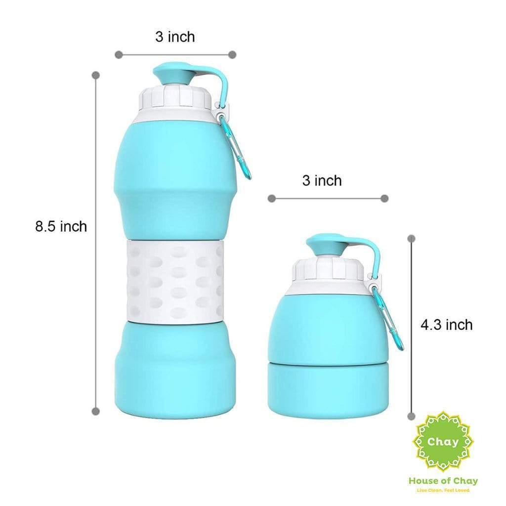 Colapsible Silicon Bottle (580ml)