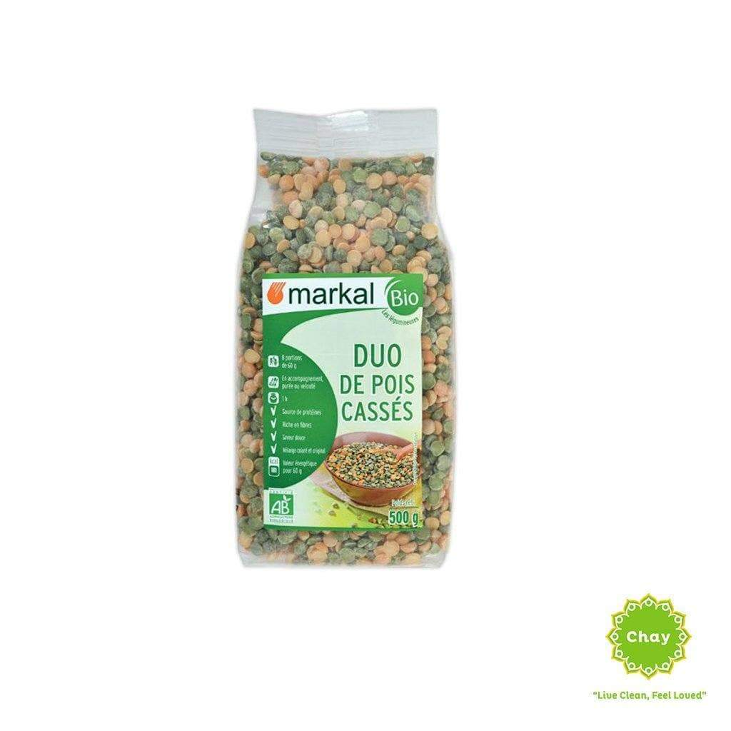Duo Split Peas (green&yellow) Markal 500g