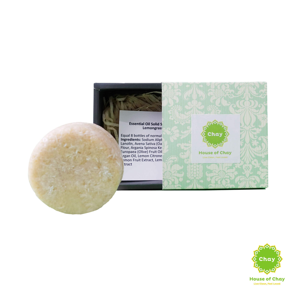 Essential Oil Solid Shampoo