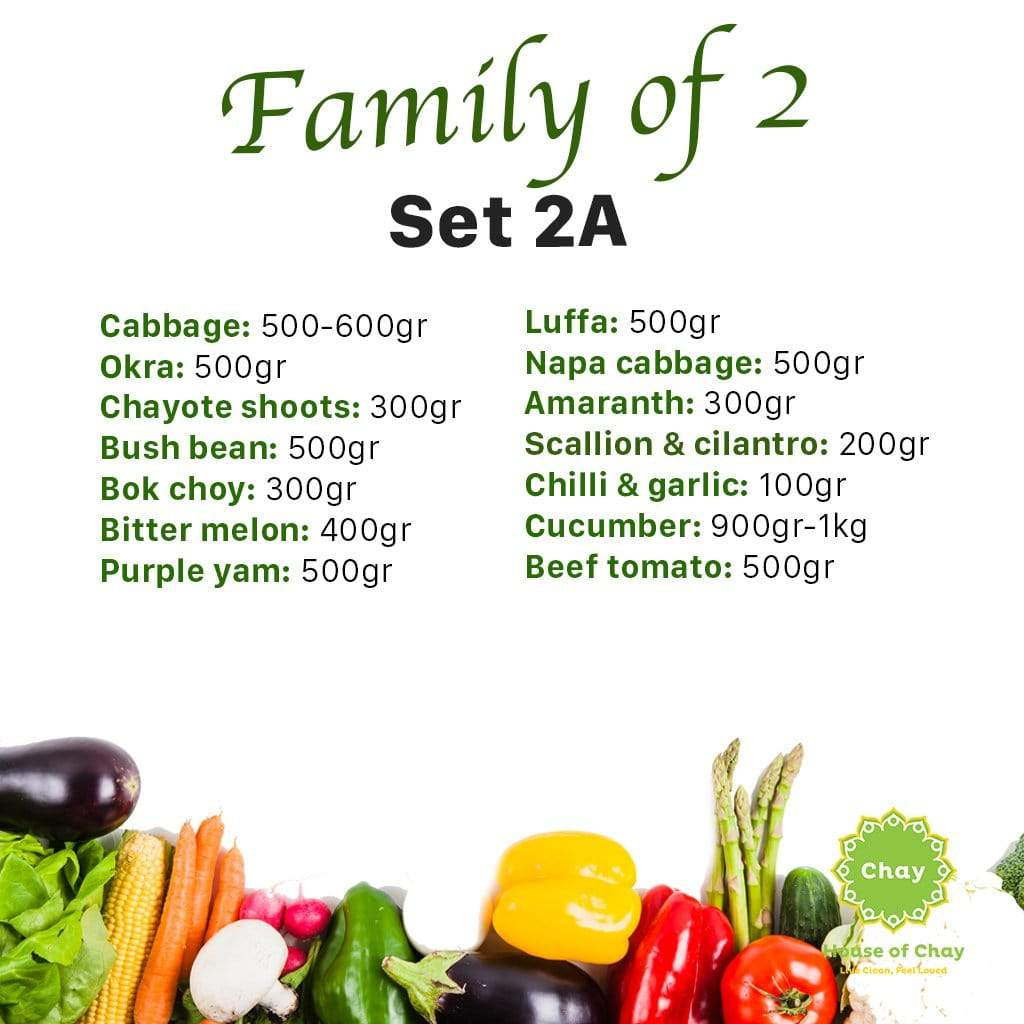 """Family of 2"" Grocery Combo 2A"