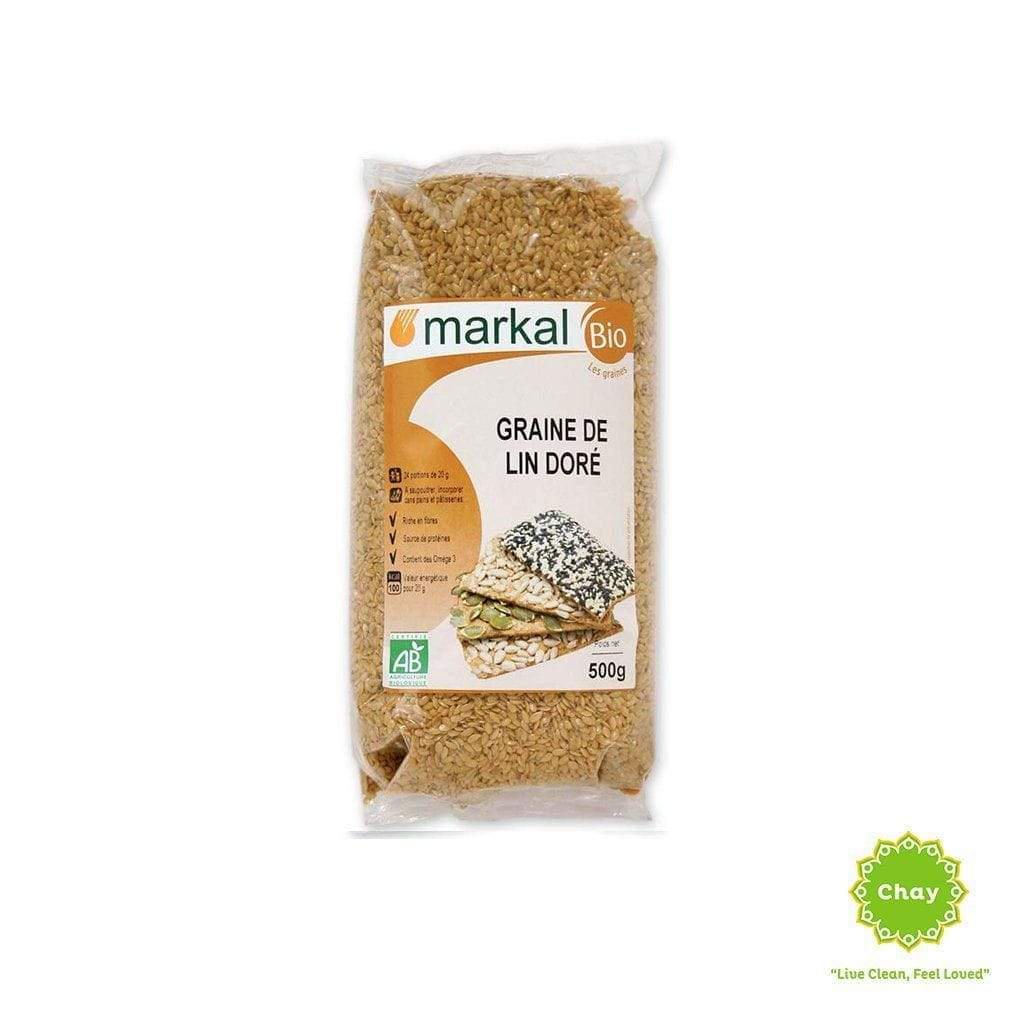 Golden Flax Seeds Markal 500g