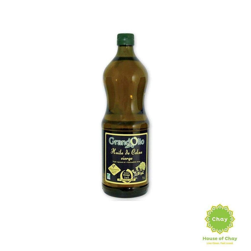 Grand Olio Organic Oil 1L Sun-flower oil