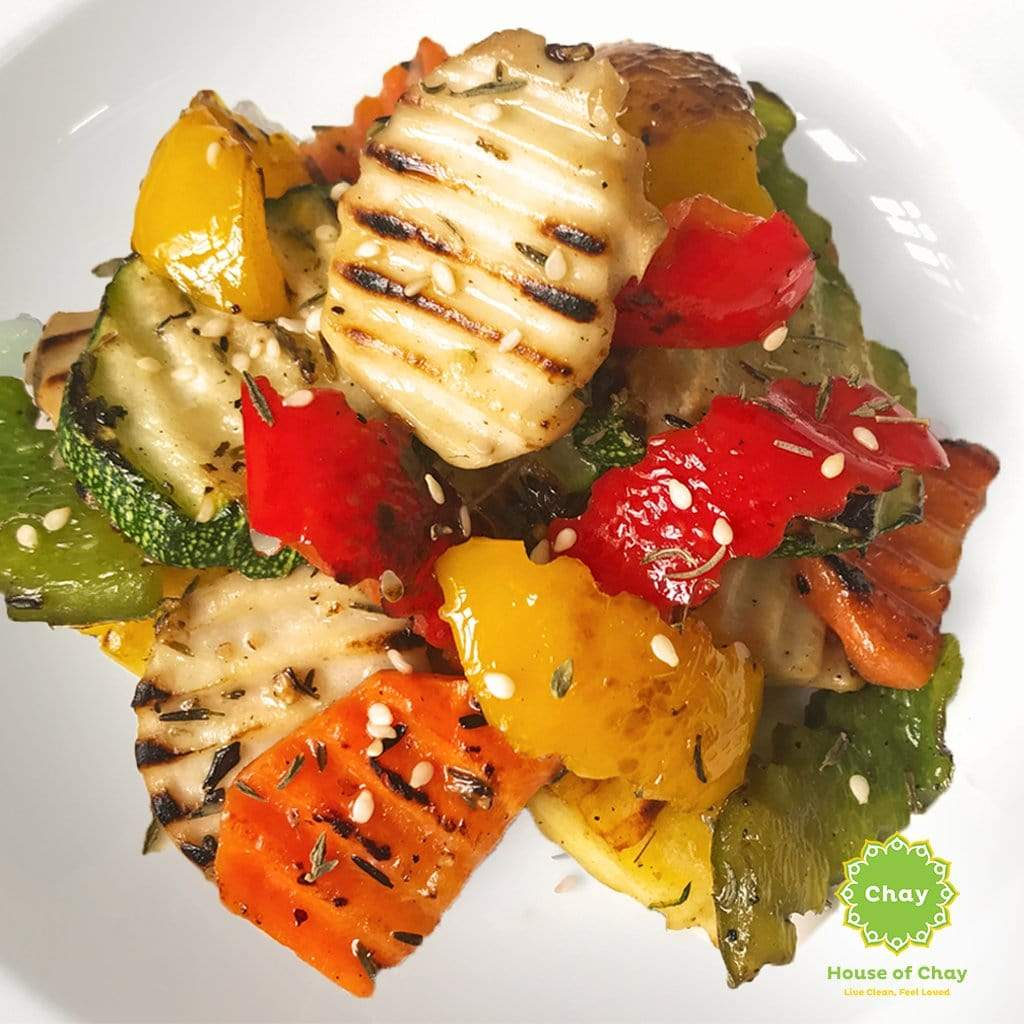 Grilled vegetables (V, GF)[SD09]