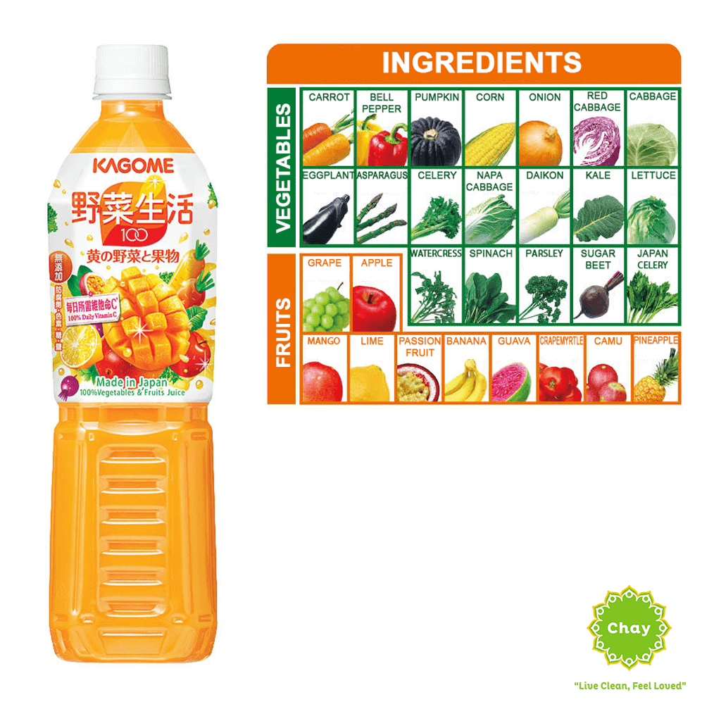 Kagome Juice Fruity Salad (720ml) [DR12]