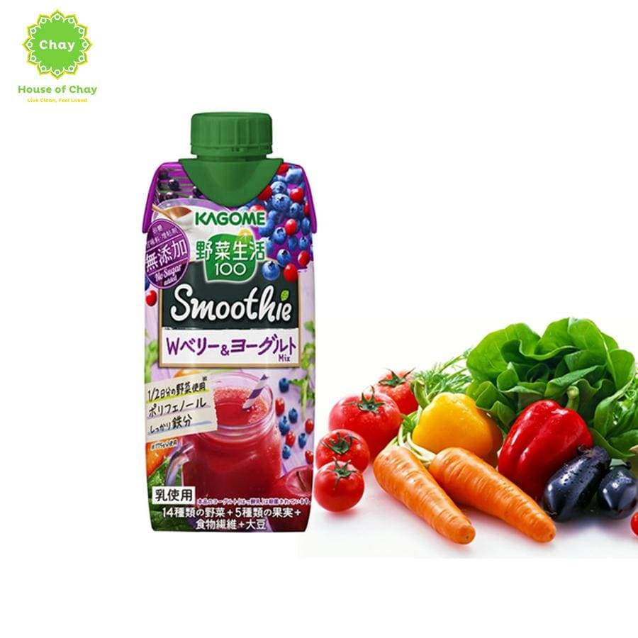 Kagome Smoothie & Yogurt (330ml)