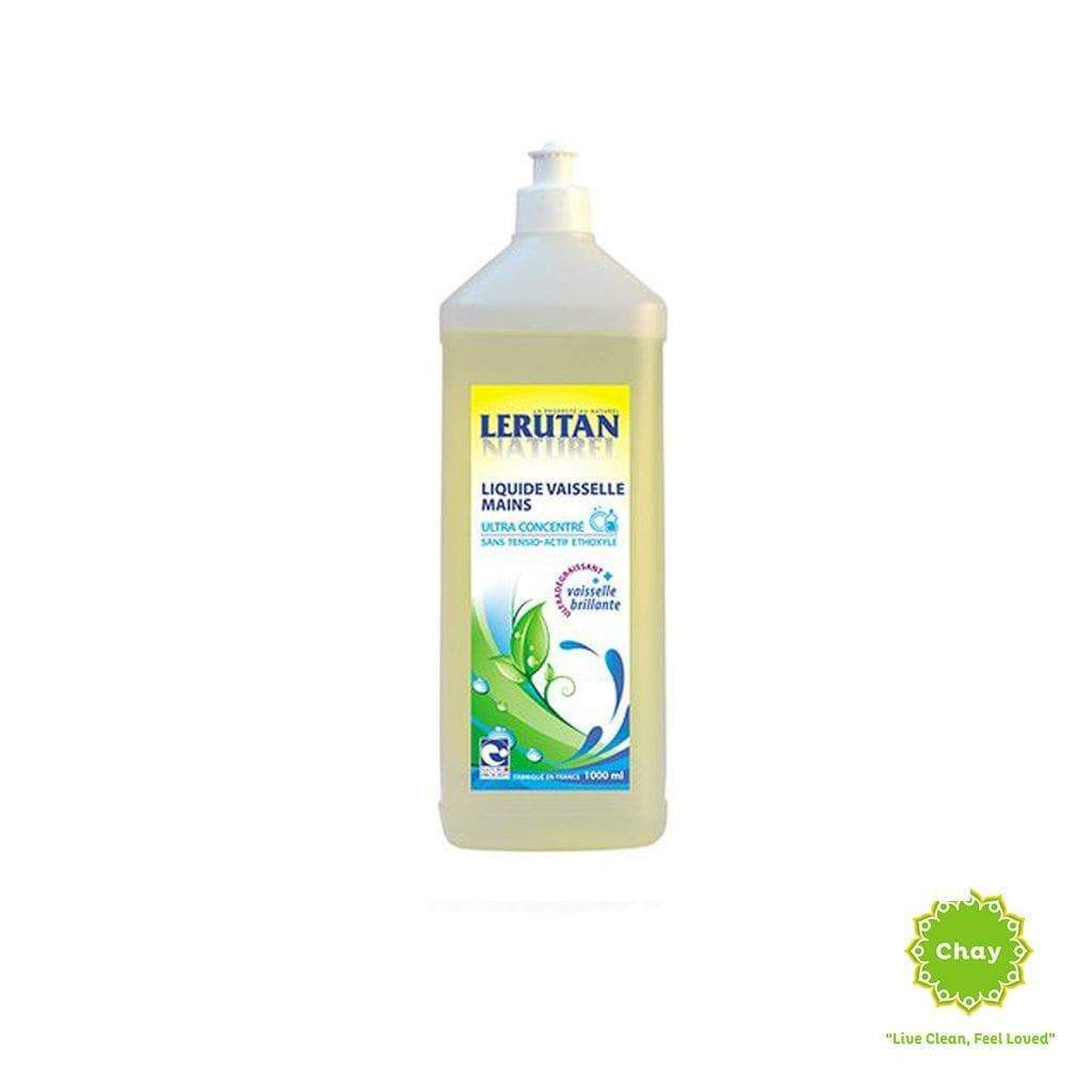 Lerutan Dishwashing Liquid Organic Lemon 1L