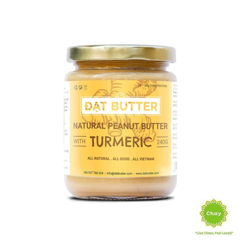 Natural Peanut Butter Smooth With Turmeric FD139