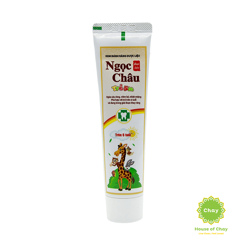 Ngoc Chau Natural Herbal Children Toothpaste 70g