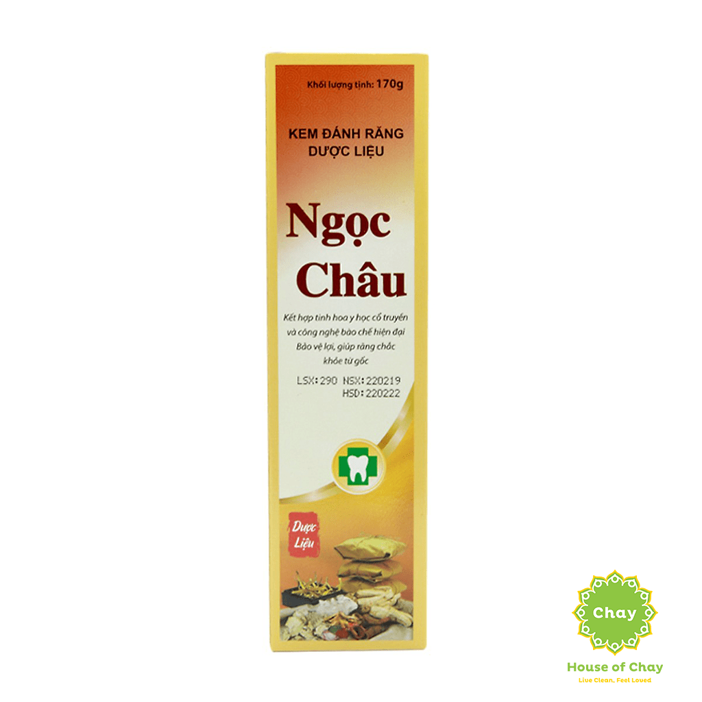Ngoc Chau Natural Herbal Toothpaste 170g
