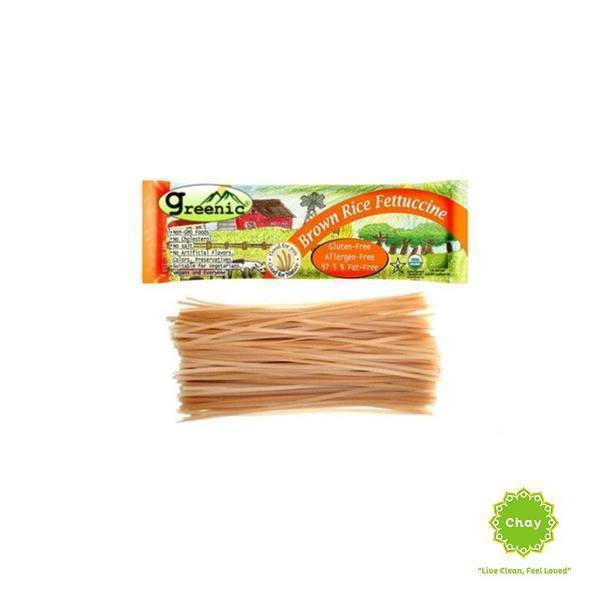 Organic Brown Rice Fettuccine Pasta Family Tree [PD072]