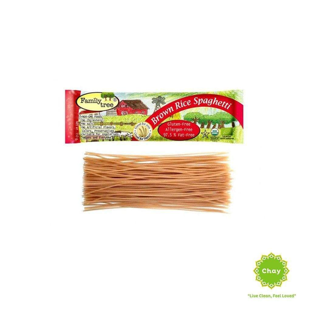 Organic brown rice spaghetti Family Tree [PD073]