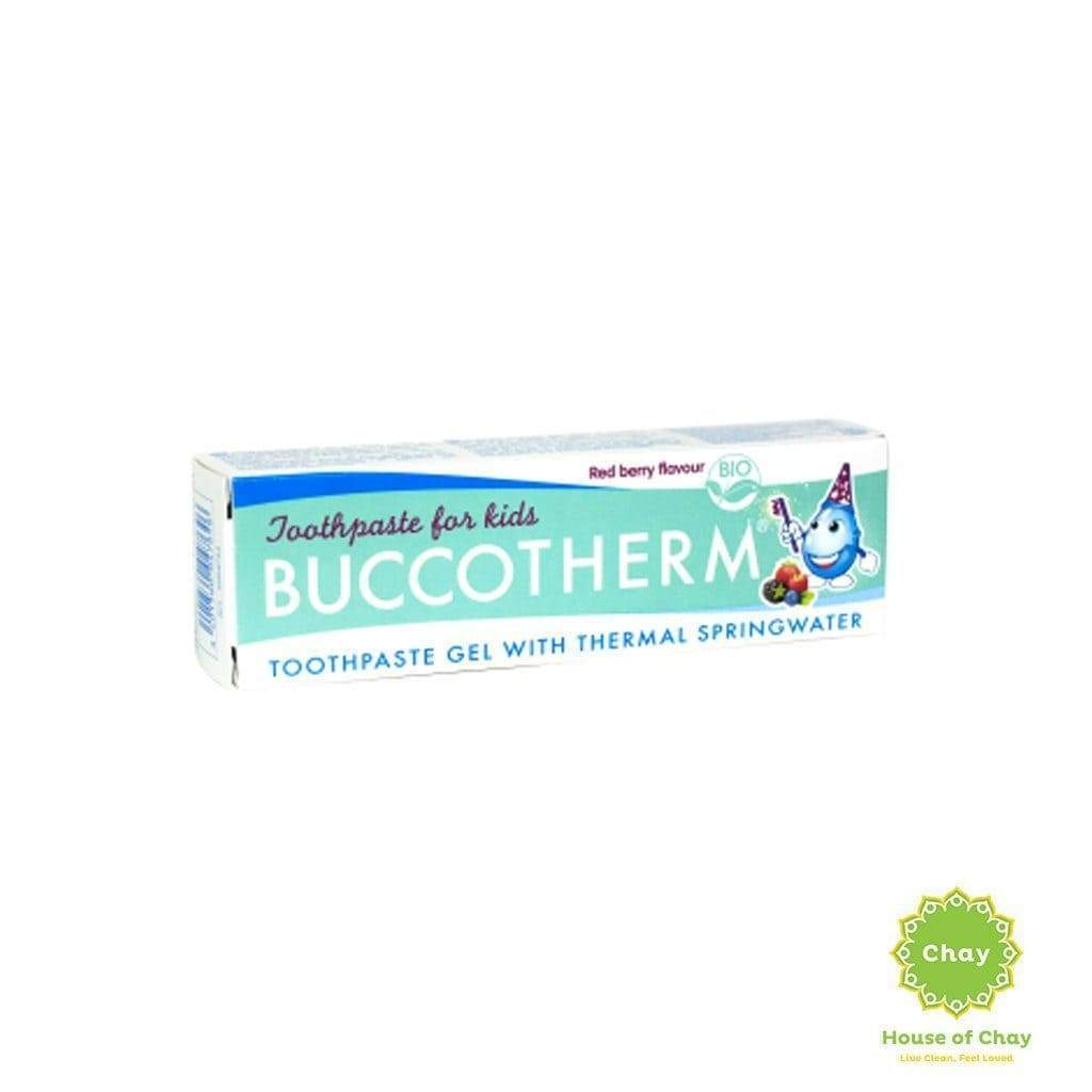 Organic Red Berry Flavour Toothpaste From 3 Years Old 50ml en Buccotherm