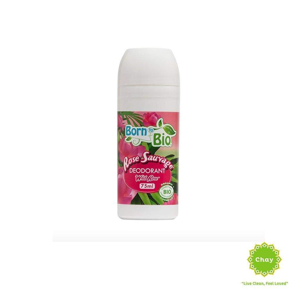 Organic Wild Rose Deodorant Born to Bio