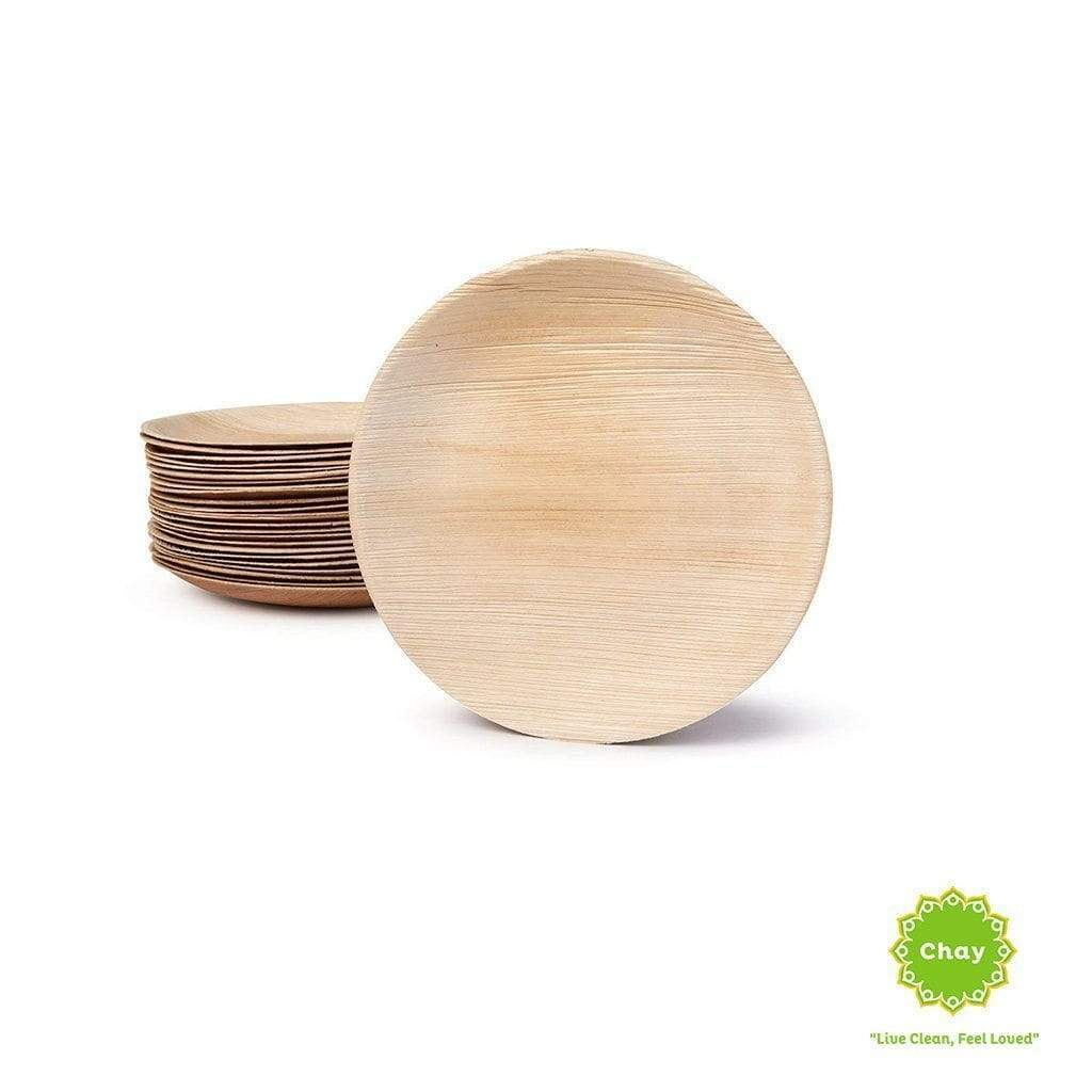 Palm leaf biodegradable disposable plate (10pcs) en House of Chay