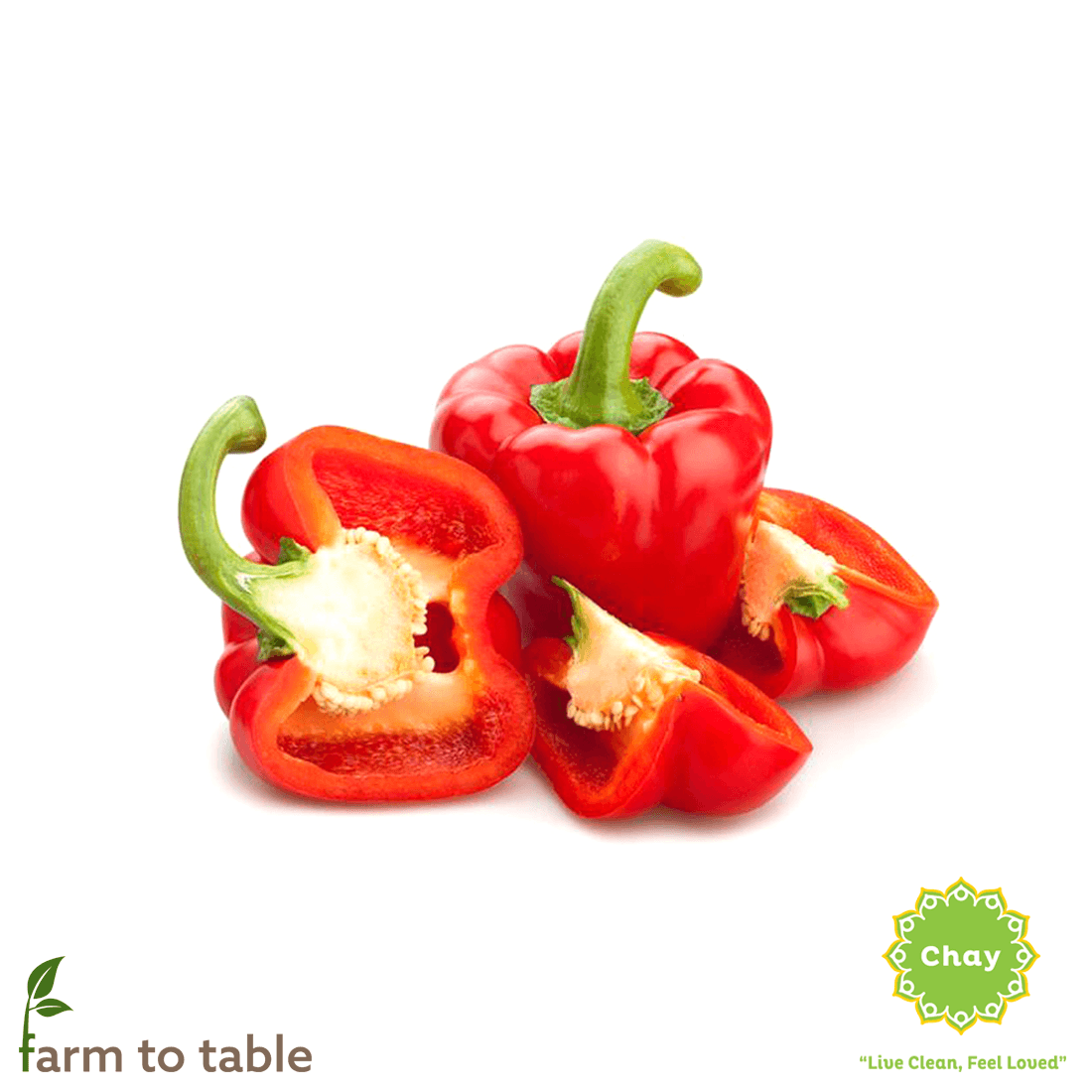 Red bell pepper 0,2 - 0,3 kg en House of Chay