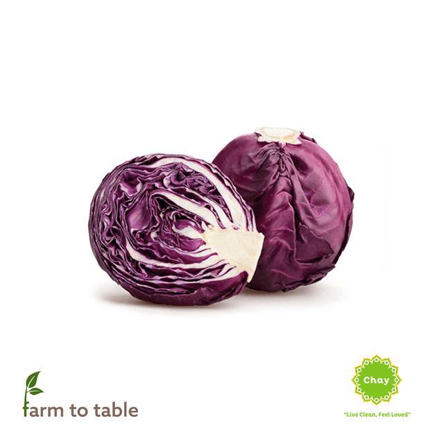 Red cabbage 0,6-0,7 kg en House of Chay