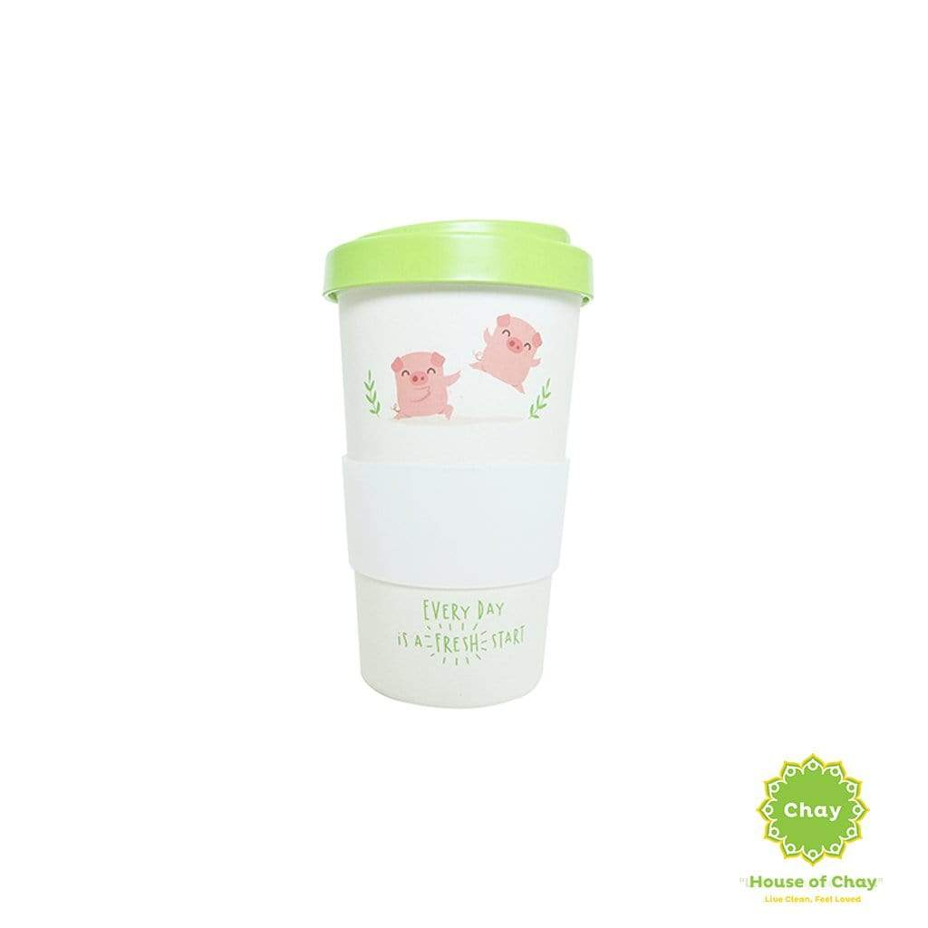 Reusable Bamboo Fiber Mug