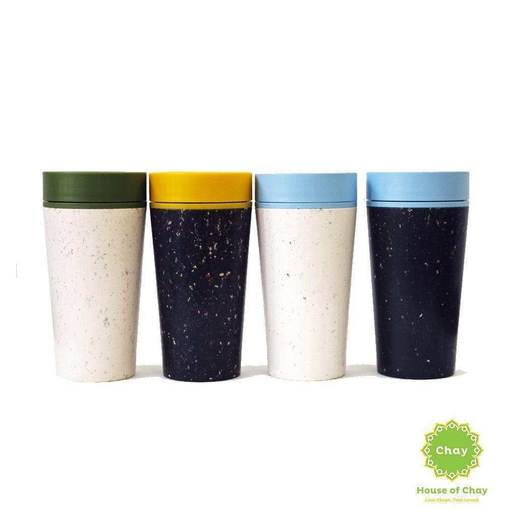 Reusable insulated travel mug rCUP en rCUP