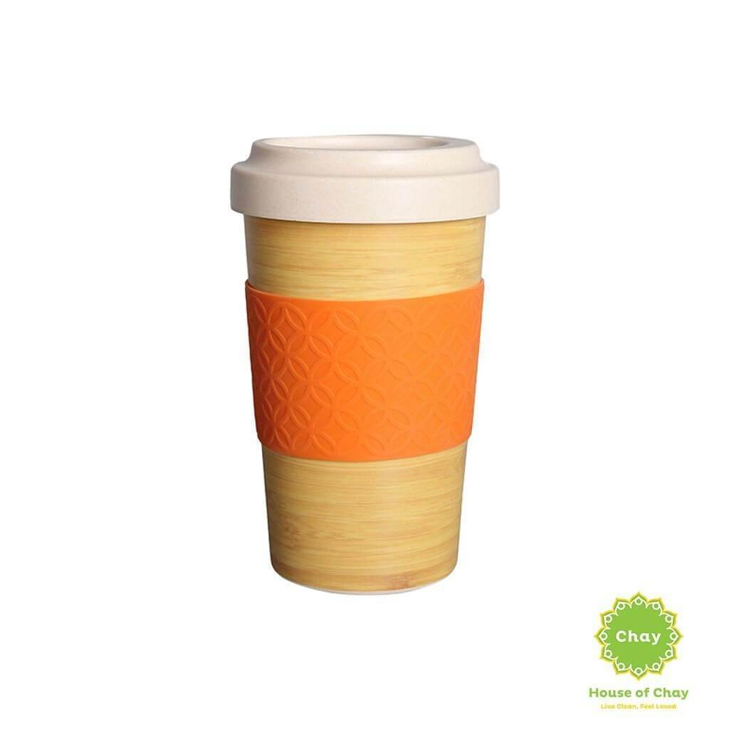 Rice Husk Mug en House of Chay 600ml calm wood.