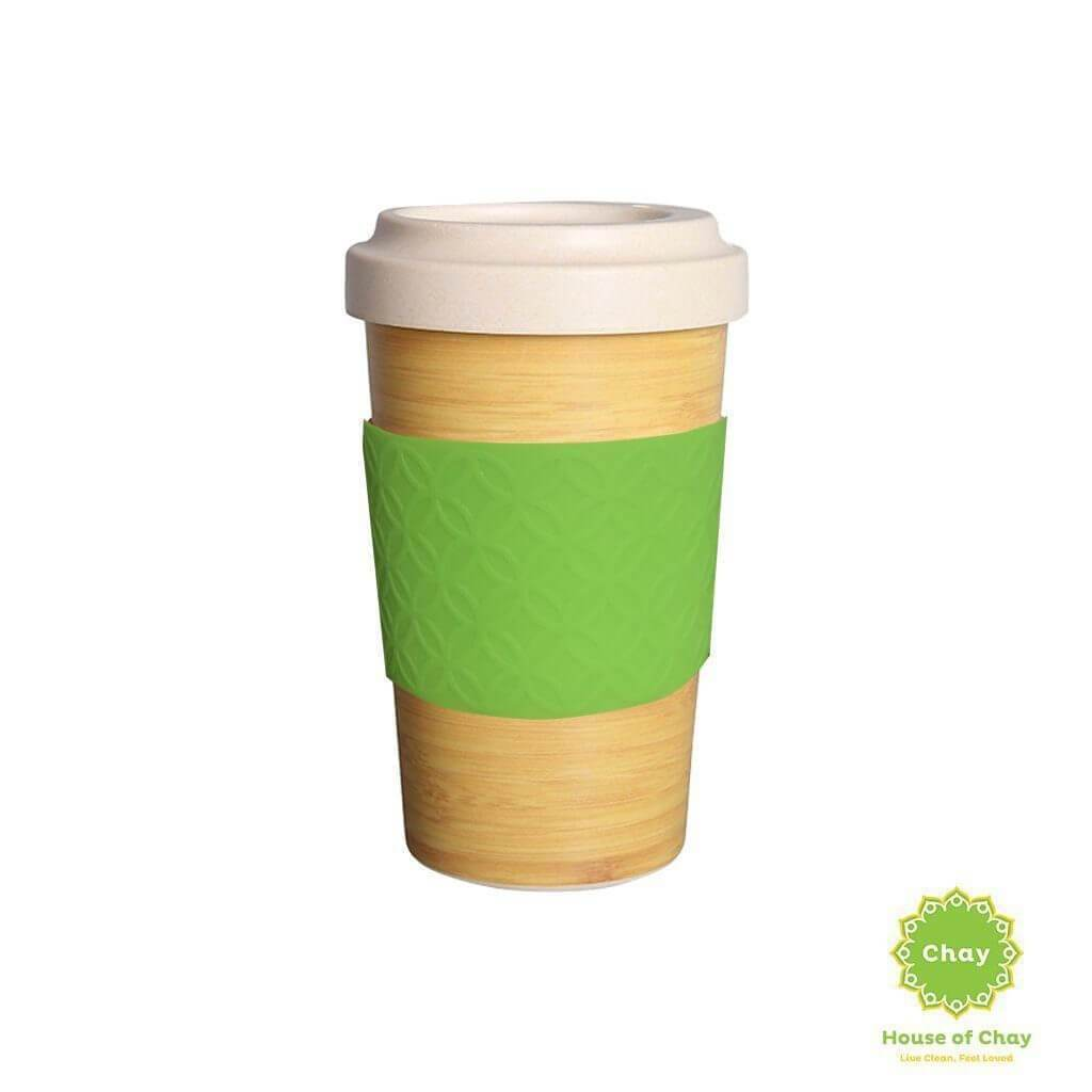 Rice Husk Mug en House of Chay 600ml green