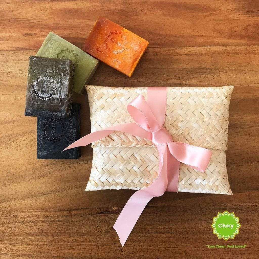 Sao Sa Natural Soap en House of Chay Pack (4 soaps)