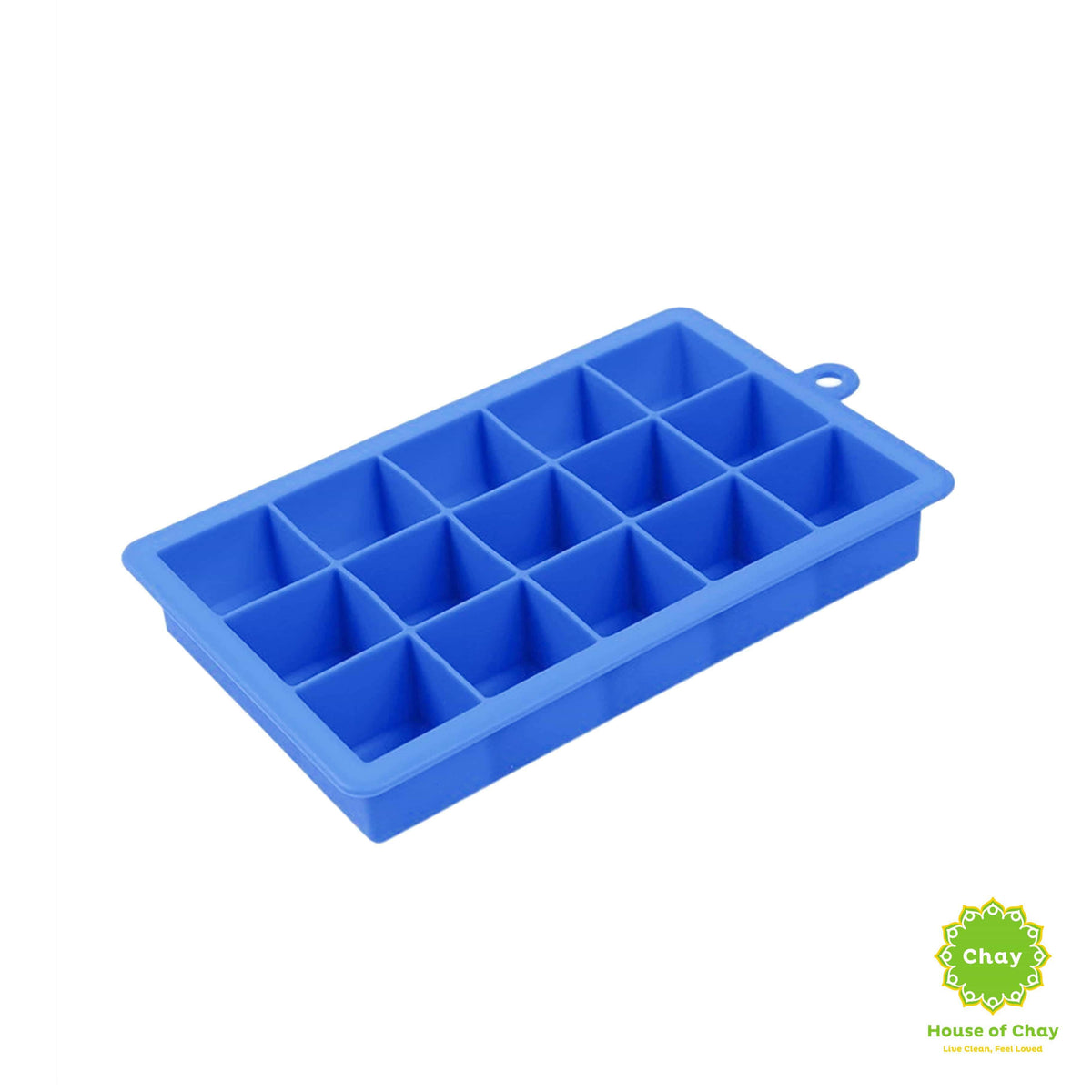 Silicone Ice Cubes Mold dark blue