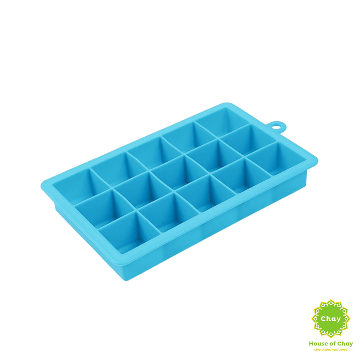 Silicone Ice Cubes Mold light blue