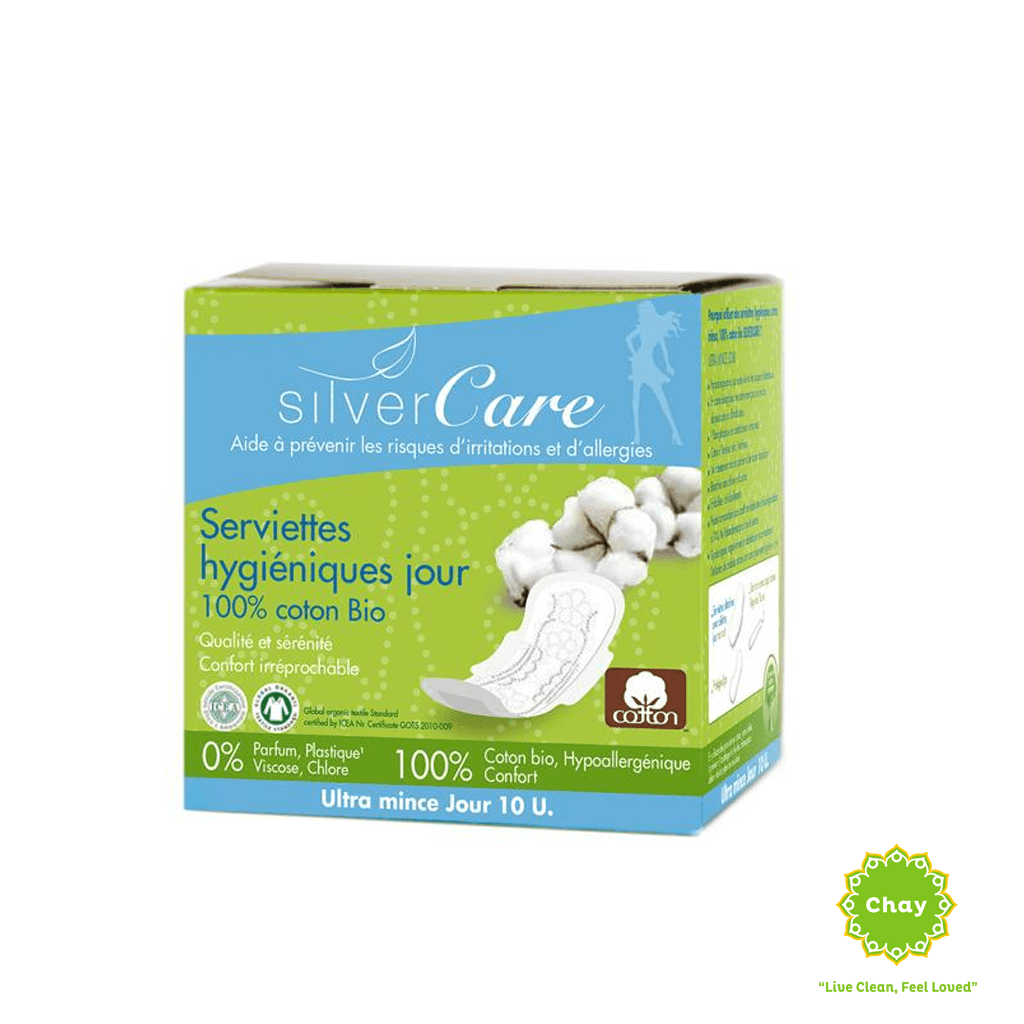 Ultra-thin day organic sanitary napkin (10 pieces) [PD062] en House of Chay