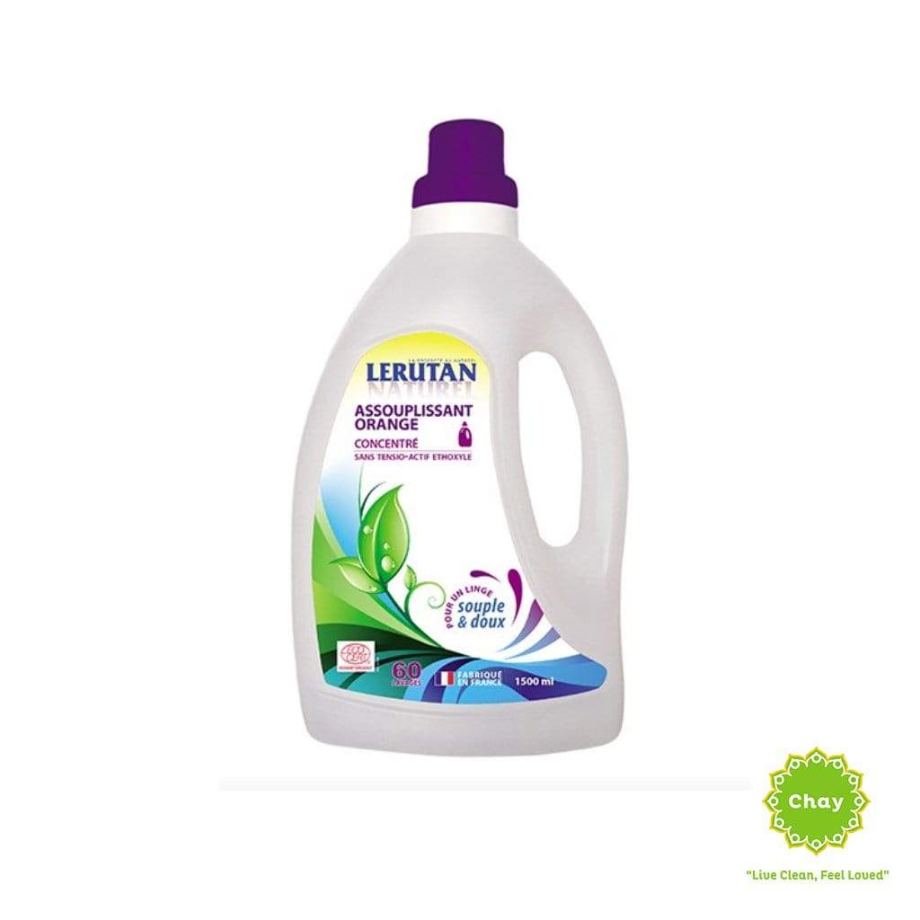 Washing Detergent Liquid - Softener Lerutan 1,5L Softener / Orange