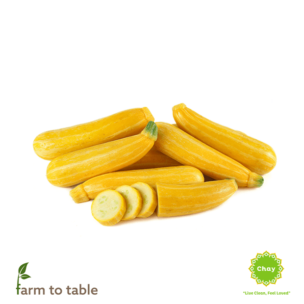 Yellow zucchini 0,5-0,6 kg en House of Chay