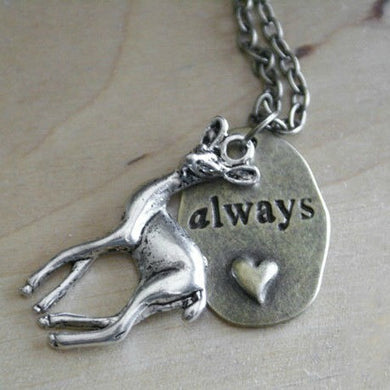 Doe/Always Necklace