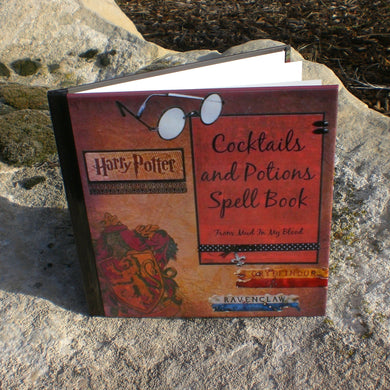Wizard Cocktail and Potions Spell Book