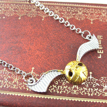 Lay-Flat Golden Orb Necklace