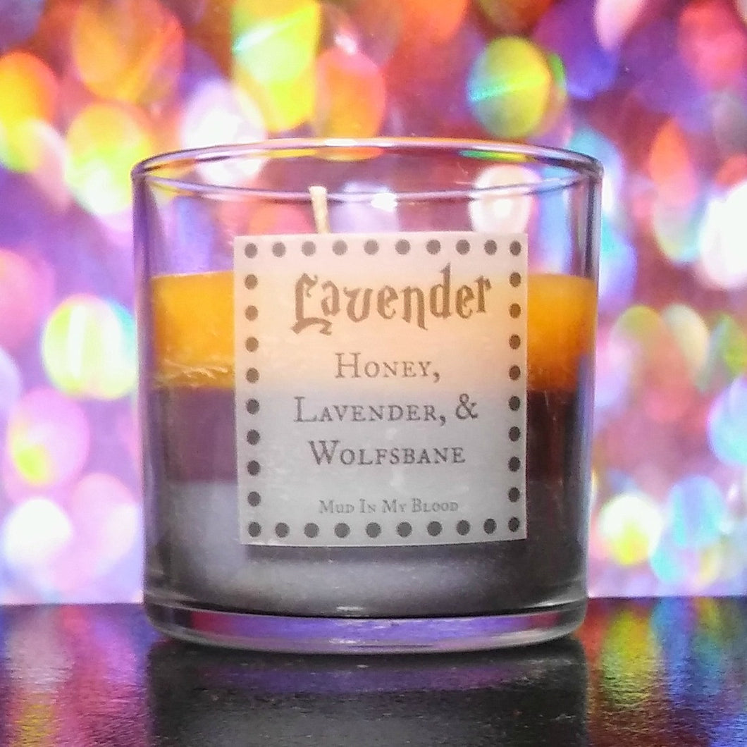 Lavender Scented 4oz Candle