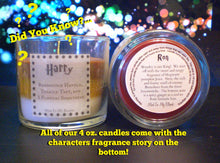 Character Candle Gift Wrapping