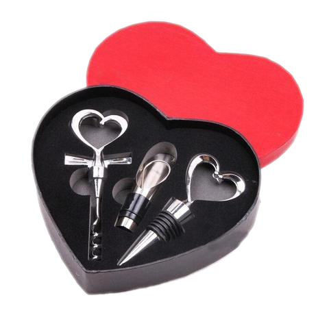 Heart Gift Box with Bar Tools - The Drunk Boutique