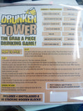 Jenga Drunken Tower Drinking Game - The Drunk Boutique