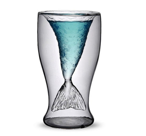Mermaid shot glass - The Drunk Boutique