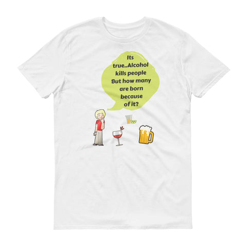Does alcohol really hurts T-shirt - The Drunk Boutique