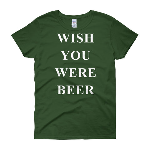 Wish you were Beer T-shirt - The Drunk Boutique
