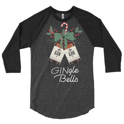 GINgle Bells Christmas Longsleeve - The Drunk Boutique